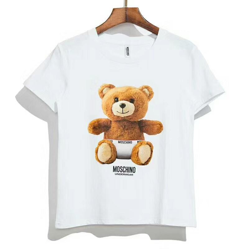 חולצות MOSCHINO משגעות מכותנה לילדים ומבוגרים