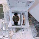 סט מתנה לאישה, סט של שעון וצמיד, סט של DIOR, סט יוקרתי מתנה לאישה, סט של DIOR, שעוני יוקרה, צמידי יוקרה