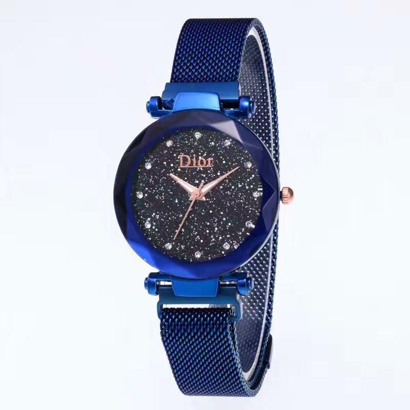 שעון של דיאור, שעון של DIOR, שעון עם רצועה מגנט, שעונים לנשים, שעון לנשים 2018, שעונים 2018 לנשים, שעון יוקרתי,