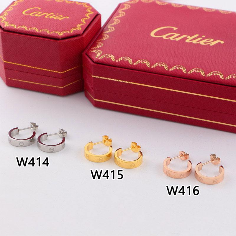 עגילים לנשים, מתנה לאישה, מתנה לחברה, רעיון למתנה, עגילים של CARTIER